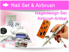Airbrush Set Nageldesign