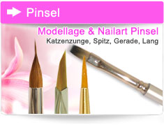 Nagelmodellage Pinsel