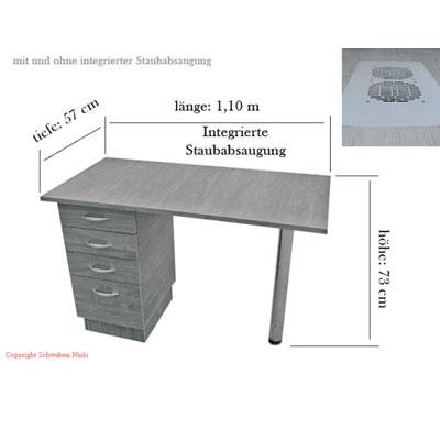nagelstudio tisch nagelkosmetik tisch arbeitstisch. Black Bedroom Furniture Sets. Home Design Ideas