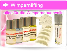 Wimpernlifting Produkte