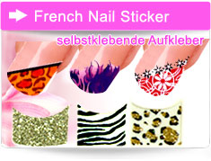 French Nail Sticker