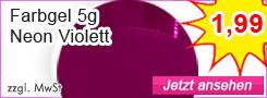 Farbgel Neon Violett günstig kaufen
