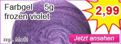 Farbgel violet günstig kaufen