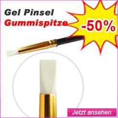 Gel Pinsel mit Gummispitze günstig kaufen