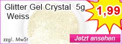 GlitterGel Weiss günstig kaufen