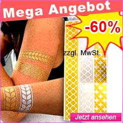 Gold Tattoos g�nstig kaufen