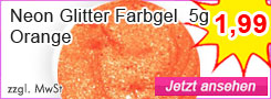 Farbgel Orange günstig
