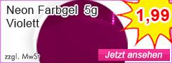 Neon Violett Farbgel g�nstig kaufen