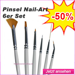 Pinsel Nail Art 6er Set günstig kaufen