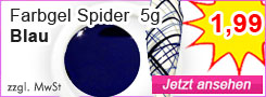 Farbgel Spider Blau günstig