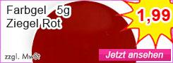 Farbgel Ziegel-Rot günstig kaufen