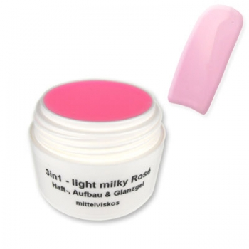 3in1 - light milky Rosé 15gr