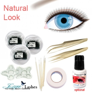 Natural Look Wimpern Set