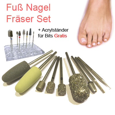 Fuu00df Nagel Fru00e4ser Set