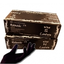 Latex Handschuhe puderfrei black